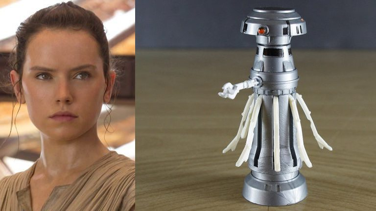 STAR WARS SECRETS REVEALED: Rey Is A Medical Droid
