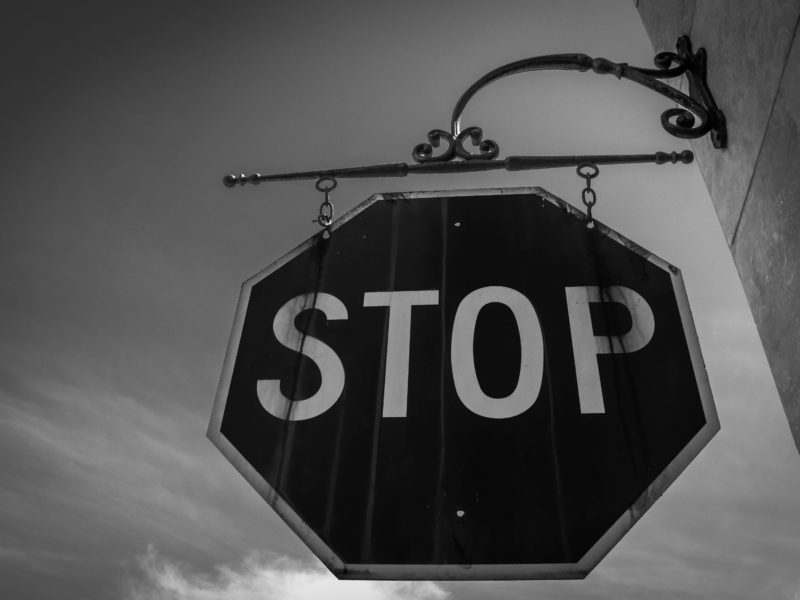 Good Art, Stop Signs and the Truths We Get To Tell