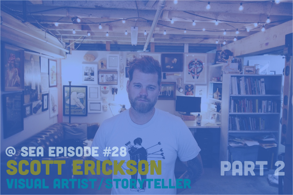@ Sea Podcast #28: Scott Erickson (Part 2)